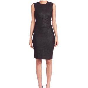 """Diane Von Furstenberg """"Glennie"""" black sheath dress"""